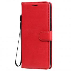 Book Case Xiaomi Redmi 9 Hoesje - Rood