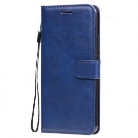 Book Case Xiaomi Redmi 9 Hoesje - Blauw