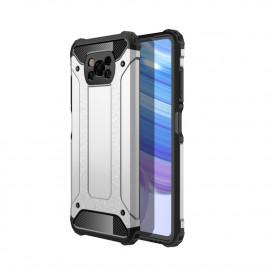 Armor Hybrid Xiaomi Poco X3 Hoesje - Grijs