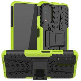 Rugged Kickstand Xiaomi Redmi 9T Hoesje - Groen