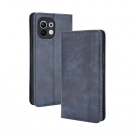 Vintage Book Case Xiaomi Mi 11 Hoesje - Blauw
