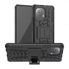 Rugged Kickstand Xiaomi Mi 11 Hoesje - Zwart