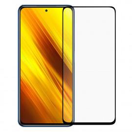 Tempered Glass Xiaomi Poco X3 - Zwart
