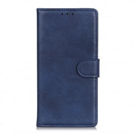 Luxe Book Case Samsung Galaxy A02s Hoesje - Blauw