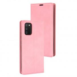 Premium Book Case Samsung Galaxy A02s Hoesje - Pink