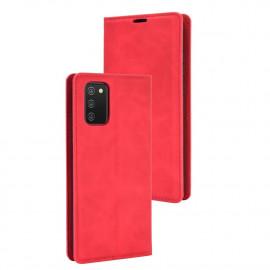 Premium Book Case Samsung Galaxy A02s Hoesje - Rood