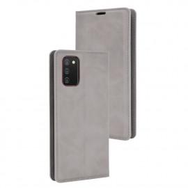 Premium Book Case Samsung Galaxy A02s Hoesje - Grijs