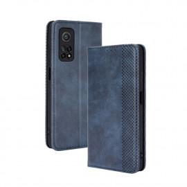 Vintage Book Case Xiaomi Mi 10T Pro 5G Hoesje - Blauw