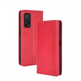 Vintage Book Case Xiaomi Mi 10T Pro 5G Hoesje - Rood