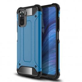 Armor Hybrid Xiaomi Redmi Note 10 Hoesje - Lichtblauw