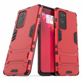 Armor Kickstand OnePlus 9 Pro Hoesje - Rood