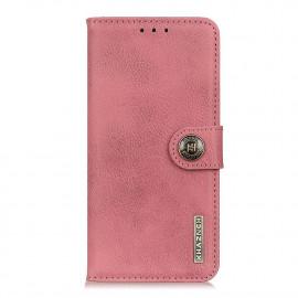 Classic Book Case OnePlus 9 Pro Hoesje - Roze