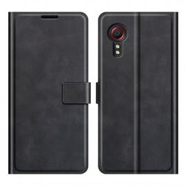 Book Case Samsung Galaxy Xcover 5 Hoesje - Zwart