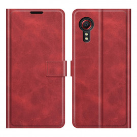 Book Case Samsung Galaxy Xcover 5 Hoesje - Rood