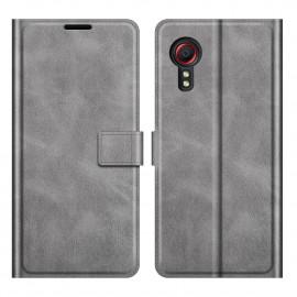 Book Case Samsung Galaxy Xcover 5 Hoesje - Grijs
