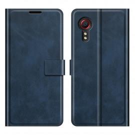 Book Case Samsung Galaxy Xcover 5 Hoesje - Blauw