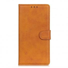 Luxe Book Case OnePlus 9 Hoesje - Bruin
