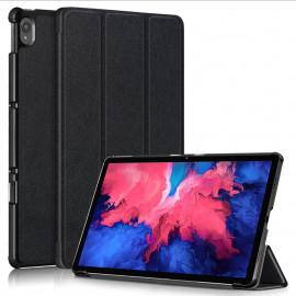 Tri-Fold Book Case Lenovo Tab P11 Hoesje - Zwart