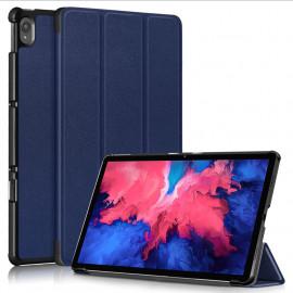 Tri-Fold Book Case Lenovo Tab P11 Hoesje - Blauw
