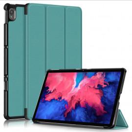 Tri-Fold Book Case Lenovo Tab P11 Hoesje - Groen