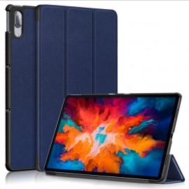 Tri-Fold Book Case Lenovo Tab P11 Pro Hoesje - Blauw