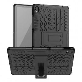 Rugged Kickstand Lenovo Tab P11 Hoesje - Zwart