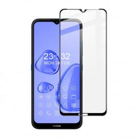 Full-Cover Tempered Glass Nokia 1.4 - Zwart