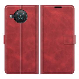 Book Case Deluxe Nokia X10 / X20 Hoesje - Rood