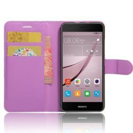 Book Case Hoesje Huawei Nova - Paars