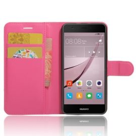 Book Case Hoesje Huawei Nova - Roze