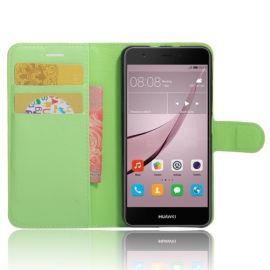 Book Case Hoesje Huawei Nova - Groen