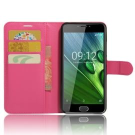 Book Case Hoesje Acer Liquid Z6 Plus - Roze