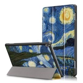 Smart Tri-Fold Case Lenovo Tab 4 10 - Sterrennacht