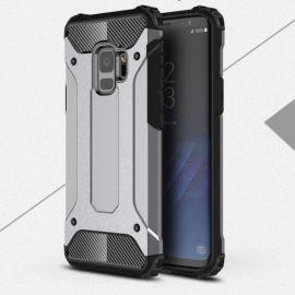 Armor Hybrid Case Samsung Galaxy S9 - Zilver