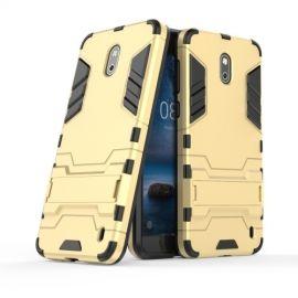 Armor Hybrid Kickstand Case Nokia 2 - Goud