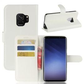 Book Case Hoesje Samsung Galaxy S9 - Wit