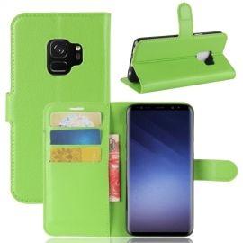 Book Case Hoesje Samsung Galaxy S9 - Groen