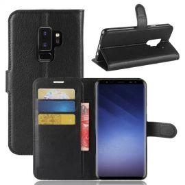 Book Case Hoesje Samsung Galaxy S9 Plus - Zwart