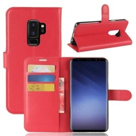 Book Case Hoesje Samsung Galaxy S9 Plus - Rood