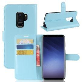 Book Case Hoesje Samsung Galaxy S9 Plus - Lichtblauw