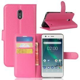 Book Case Hoesje Nokia 2 - Roze