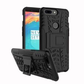 Kickstand Hoesje OnePlus 5T - Zwart