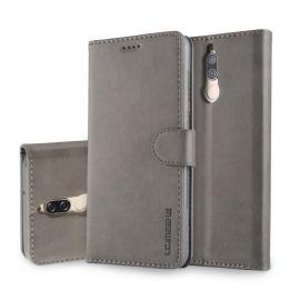 Luxe Book Case Huawei Mate 10 Lite - Grijs