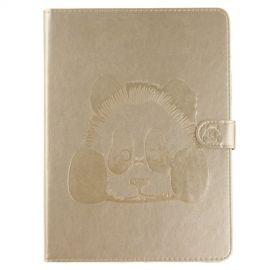 Book Case Hoesje Panda iPad (2018) / (2017) - Goud