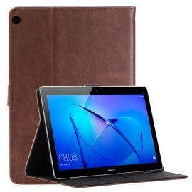 Luxe Book Case Huawei MediaPad M3 Lite 10 - Donkerbruin