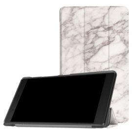 Tri-Fold Book Case Lenovo Tab 4 7 Essential - Marble
