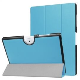 Tri-Fold Book Case Acer Iconia One 10 B3-A40 - Lichtblauw