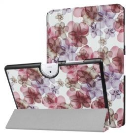 Tri-Fold Book Case Acer Iconia One 10 B3-A40 - Bloemen