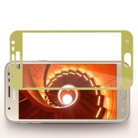Full Cover Tempered Glass Samsung Galaxy J3 (2017) - Goud