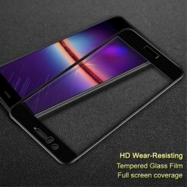 Full Cover Tempered Glass Huawei Nova 2 - Zwart